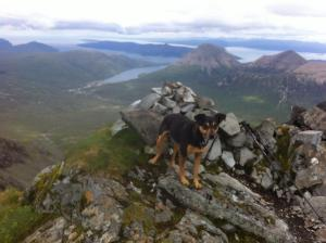Am Bastier Penny on the summit