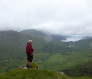 Kintail View in the mist