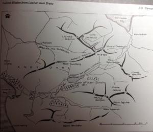 Knoydart map Day 62