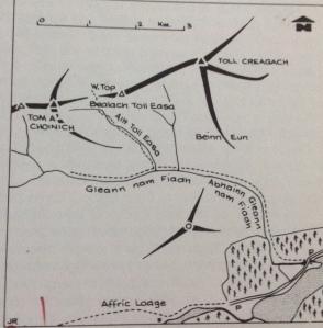 Map Toll Creagach