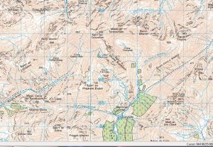 Sgurr Thuilm Map