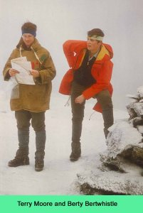 Terry wearing the famous Pixie Jacket and Bert with the Helly Hansen Jacket