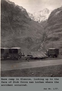 1957 Glencoe - wild camping on a callout - no chance nowadays.
