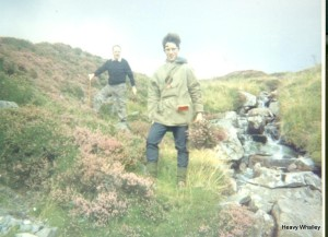 Me and Dad in Galloway mid 60's