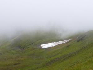 Eternal Snow in Wyvis Corries.