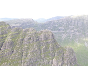The incredible ridge onto the Cioch