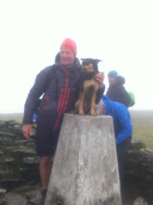 Wyvis summit Graeme and Penny what a great achievement.