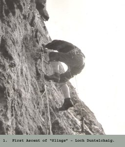1965 Aid Climbing was in vogue!
