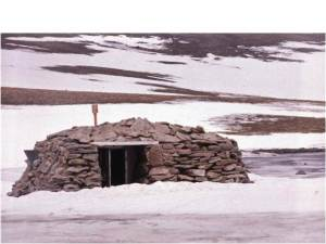 The Curran Bothy in the Cairngorms.