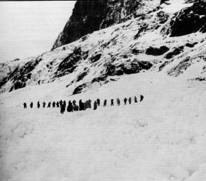 1976 Massive Avalanche on Ben Nevis.