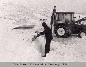 1978 Blizzards - Teams working for days all over Scotland.