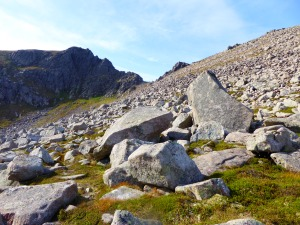 The Coire in the sun and away from the crowds