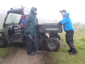 Changing the tow wire in the Cairngorms and a chat with the Cairngorm Ranger.