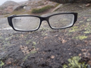 Coping with Glasses on the mountains / See tomorrows blog!