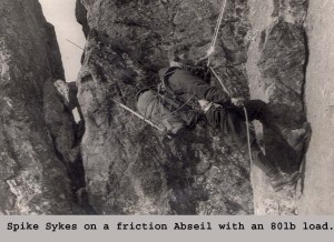 Abseiling devices were adapted for rescue work and became the main belay device for lowers!