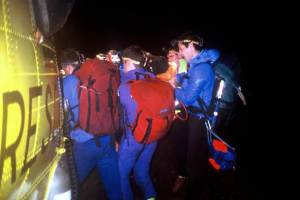 A Rescue at Night in Strathfarrar intersting in the dark