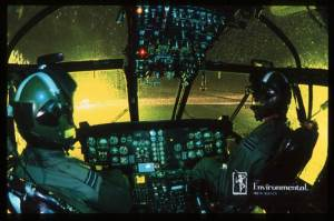 Night flying with Night Vision googles interesting times - for us all!