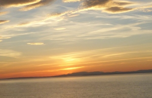 Sunset Burghead Sept