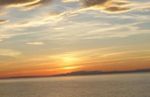 Sunset Burghead Sept