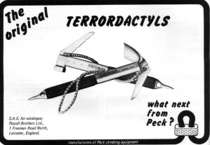 The Terrordactyl a revolution for ice climbing.