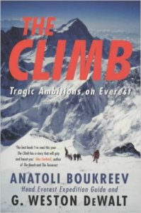The Climb - what a book a must read if going to this film.