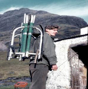 1965 Hamish stretcher early days