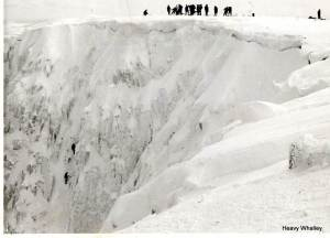 1969 - Big lower on Lochnagar in winter.