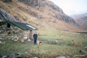 Sourlies Bothy on the West Coast.