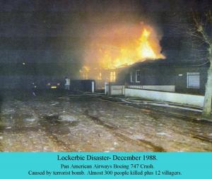 1988 fires at Lockerbie