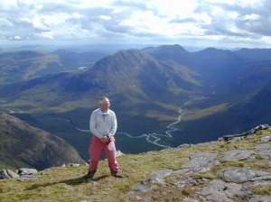 On An Teallach a hill of several tops!
