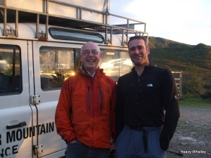 Terry Cornfield Lochaber MRT and Dan Carrol RAF Kinloss MRT - Great examples of Team Leaders.