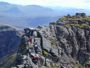 An Teallach with its tops is a magic day - how few do all the tops as well?