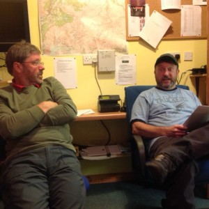 The Cairngorm Duo - Willie Anderson and Simon Steer.