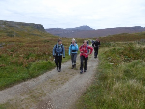 The Moray Club of on a chase of the great hills, worth the early start.