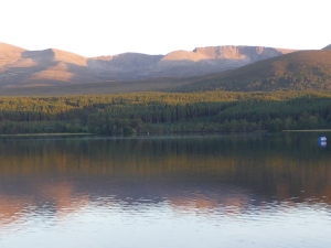 Lovely Loch Morlich in the Cairngorms
