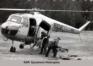 1956 Sycamore at the Canberra Crash.