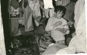 1973 Affric Bothy great days by the fire !