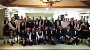 2015 The Braemar party and a great privilege to be in the photo.