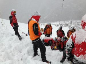 Avalanche training Braemar the forefront in this area - Photo Braemar Mrt