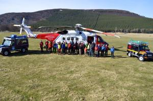 The Braemar team and the new helicopter have a safe winter and a great next period in your history.