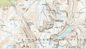 Cairngorm Map