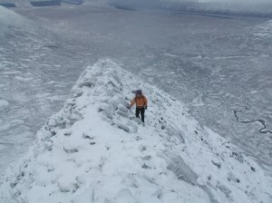 Get out and enjoy Scotland's winter mountains Lancet Edge near Ben Alder - remote and wonderful in full winter.