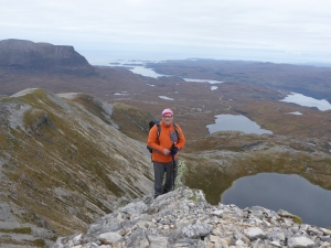 Magestic Assynt Mountains and the sea a great combination to me.