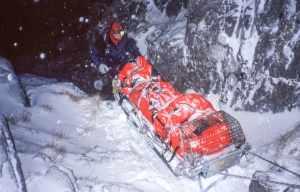 Rescue on Ben Nevis Lochaber MRT -  Mick Tighe collection