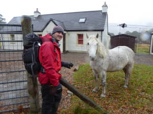 The White Cottage and the Garron with Ned!