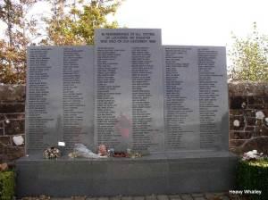 The Lockerbie Memorial.