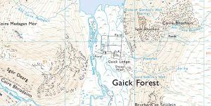 Gaick Map