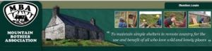 Mountain Bothies Association what a great present a years subs?