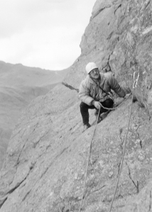 Climbing in the Lakes - Gimmer