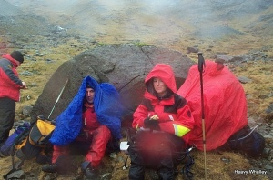2002 Call -out on Skye on a wet day.